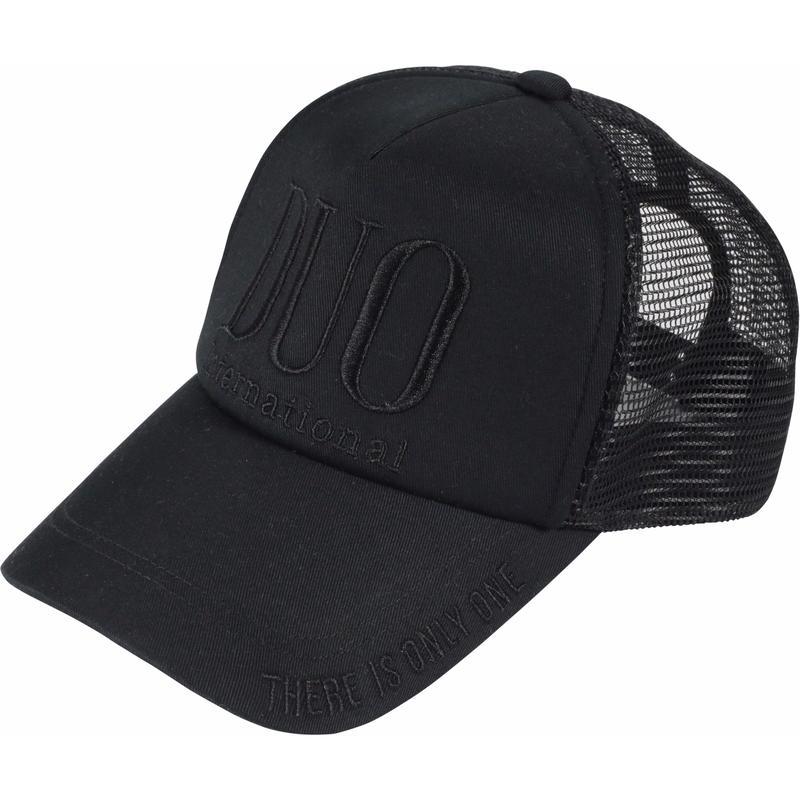 DUO ロゴメッシュキャップ / ブラック
