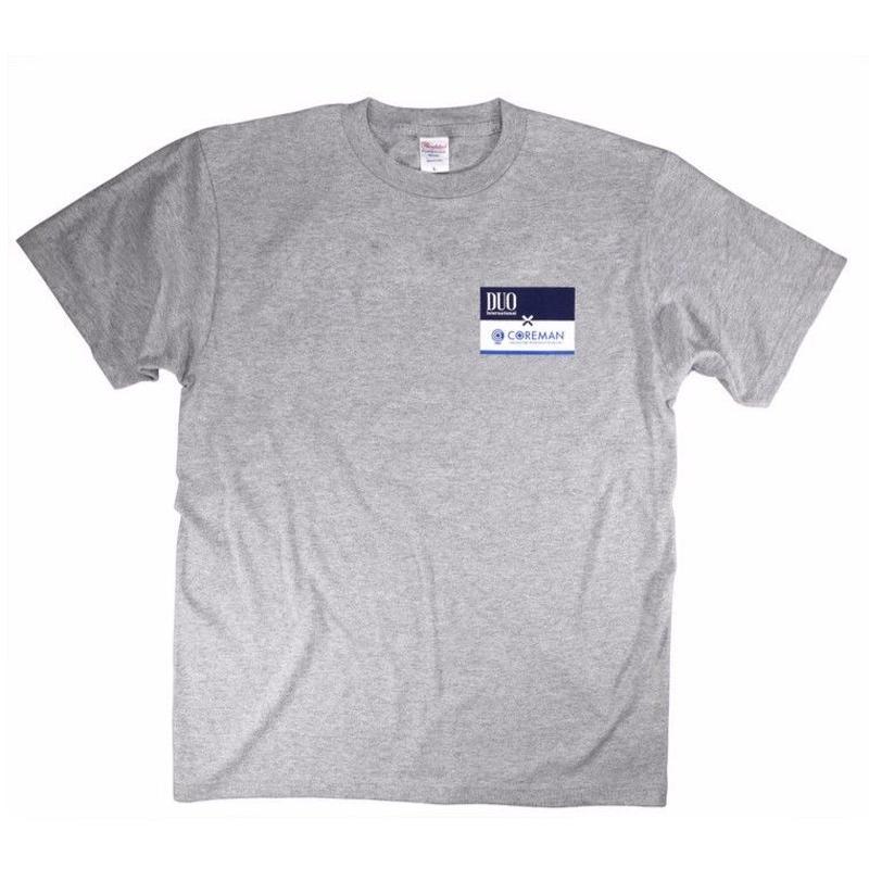 DUO×COREMAN コラボレーションTシャツ