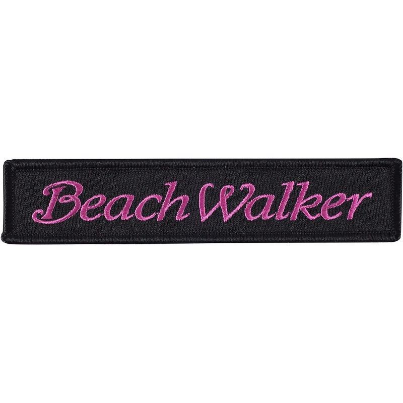 BeachWalkerロゴ 刺繍ワッペン