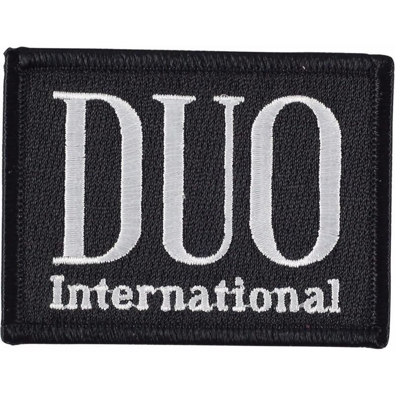 DUOロゴ 刺繍ワッペン