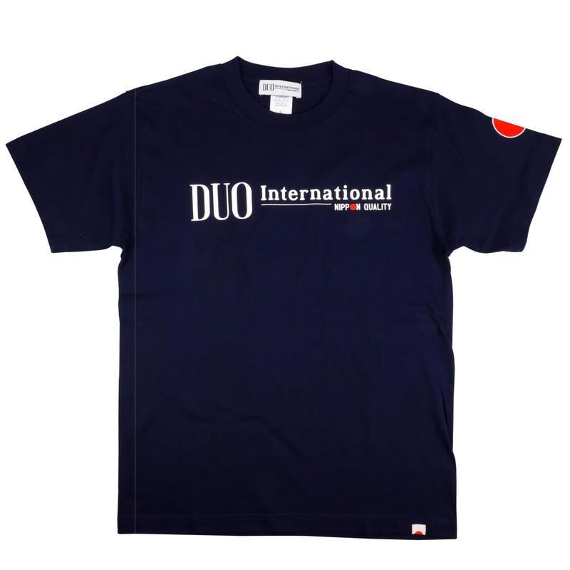 DUO international ロゴTシャツ ネイビー