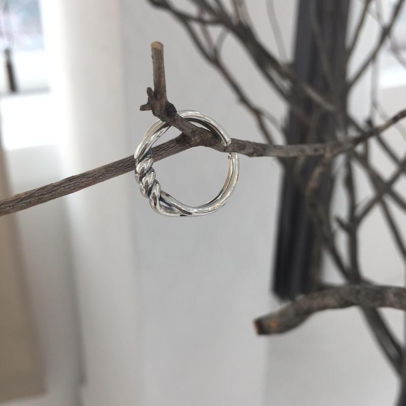 *予約販売*SILVER925  Crinkle Ring