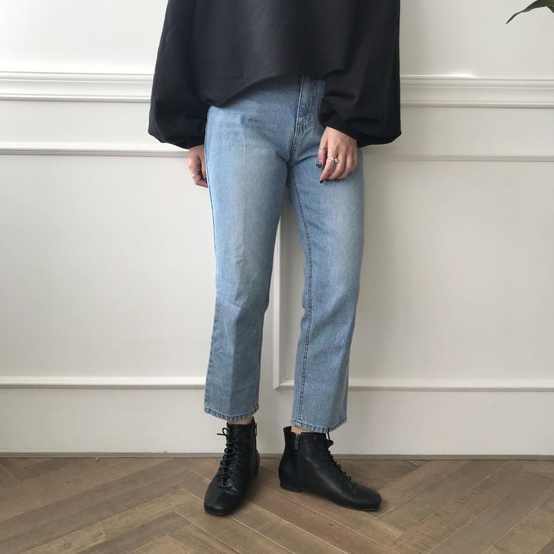 ✳︎予約販売✳︎ クロップドジーンズ