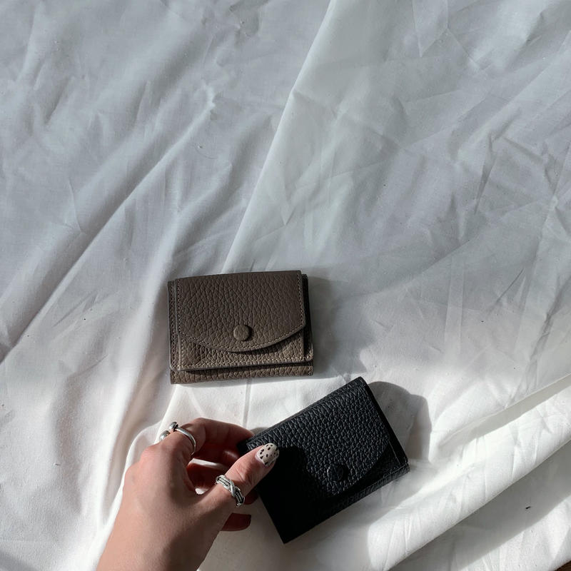*予約販売*minimal leather wallet/2colors