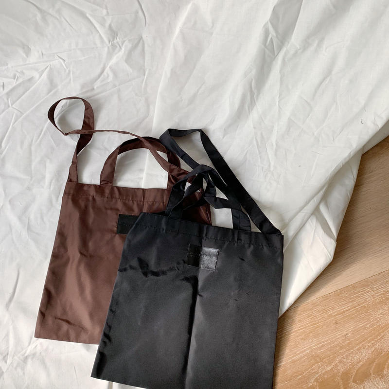 *予約販売*minimal nylon BAG/2colors