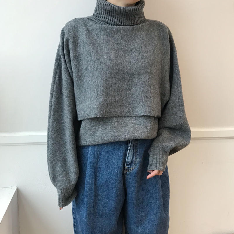 *予約販売*2set knit/2colors