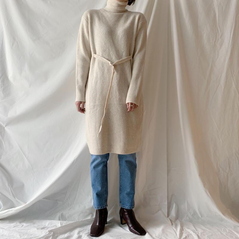 *予約販売*belt middle knit/2colors