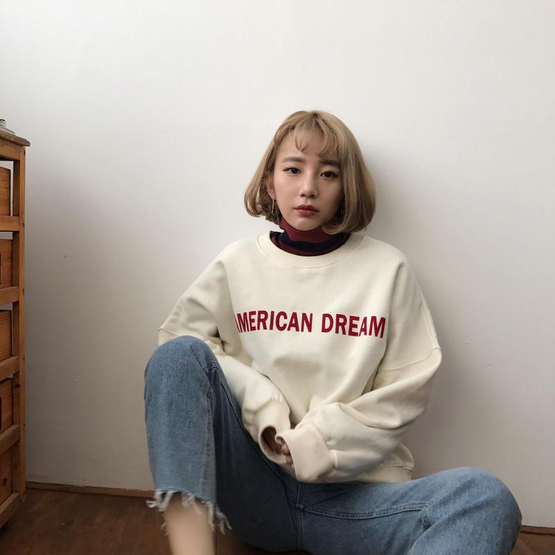 ✳︎予約販売✳︎AMERICAN トレーナー/ホワイト