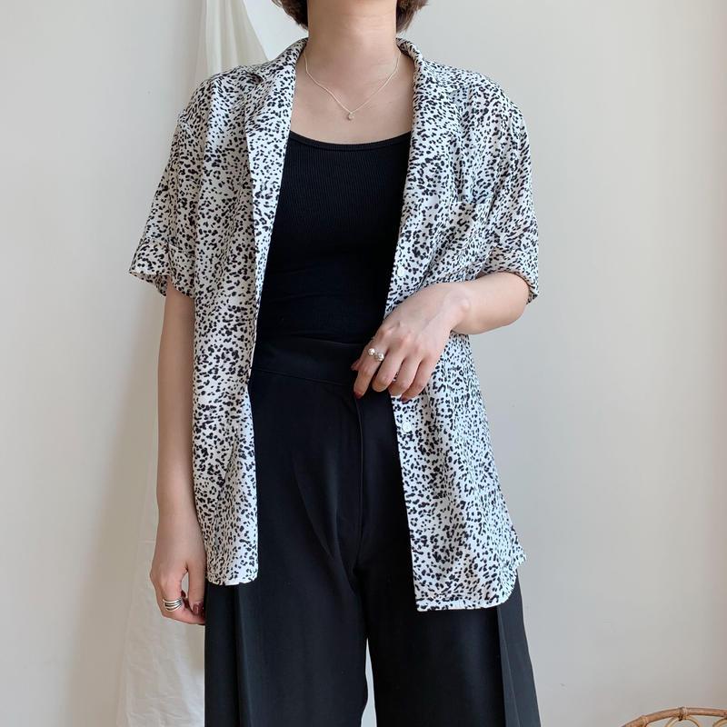 ✳︎予約販売✳︎leopard shirt/2colors