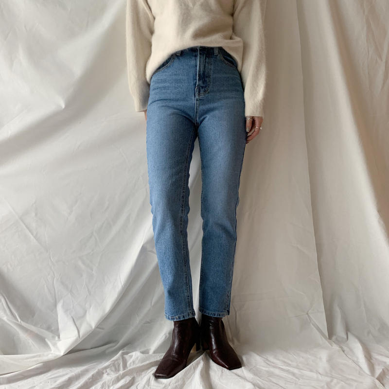 *予約販売*slit jeans
