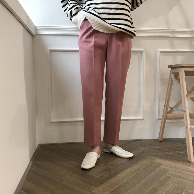 *予約販売*slim slacks PT/3colors