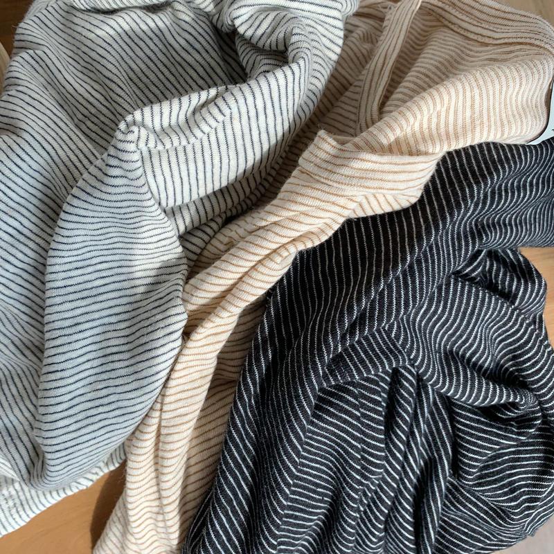*予約販売*border linen T/3colors