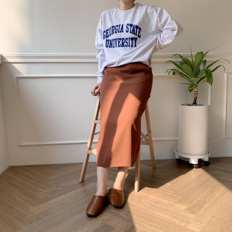 ✳︎予約販売✳︎back slit SK/4colors