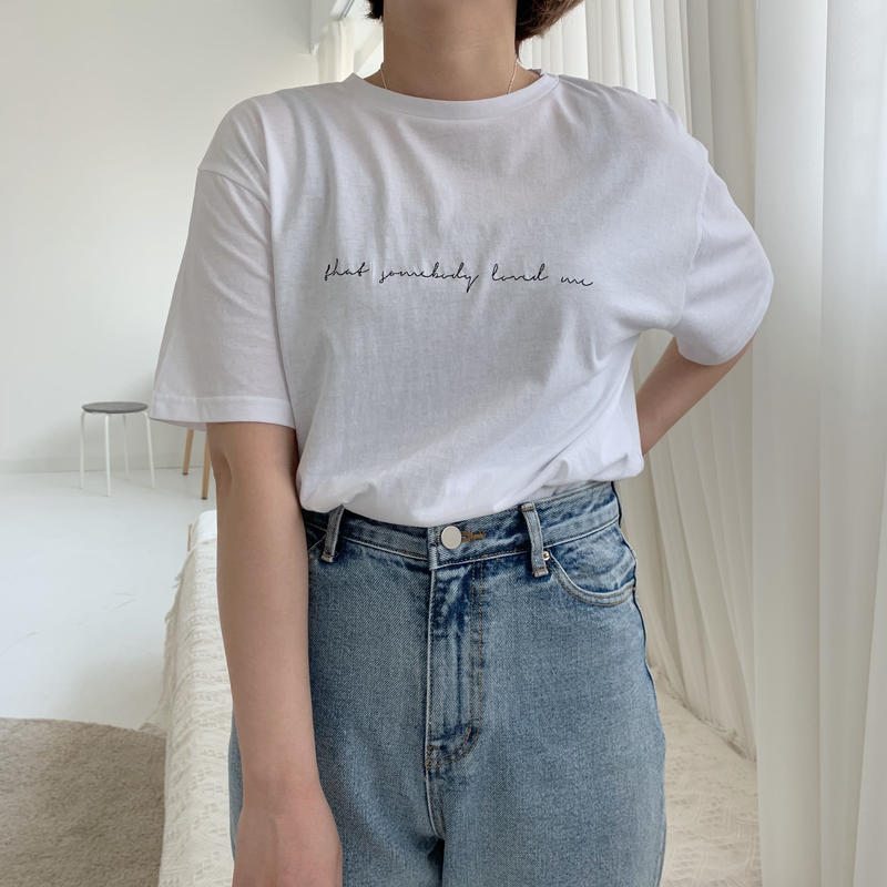 ✳︎予約販売✳︎embroidery T/2colors