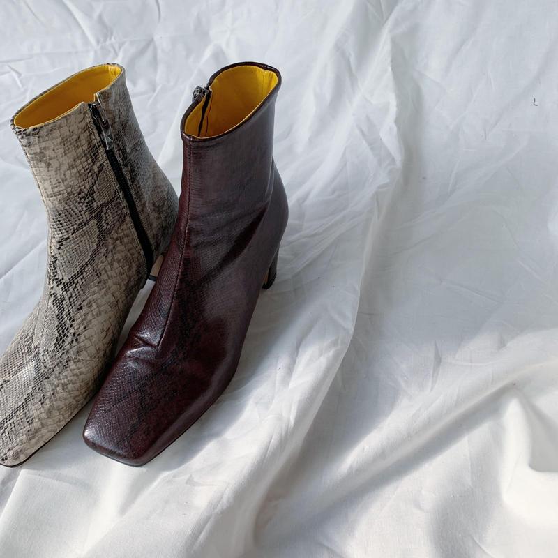 *予約販売*snake boots/2colors