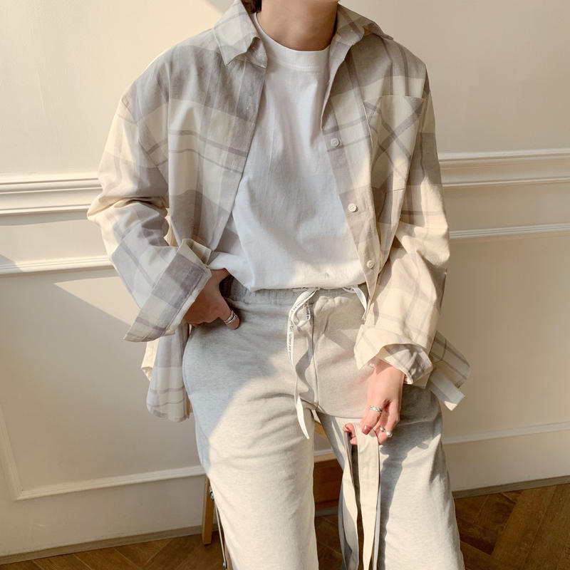 ✳︎予約販売✳︎s/s check shirt