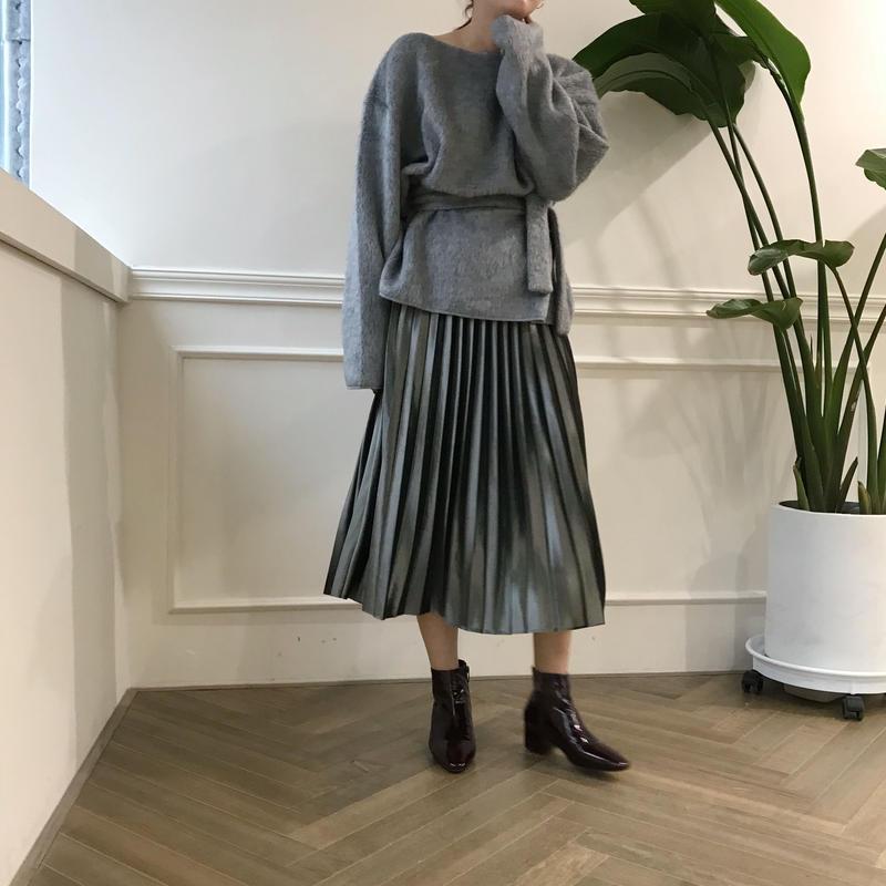 *予約販売*velvet pleats SK/2colors