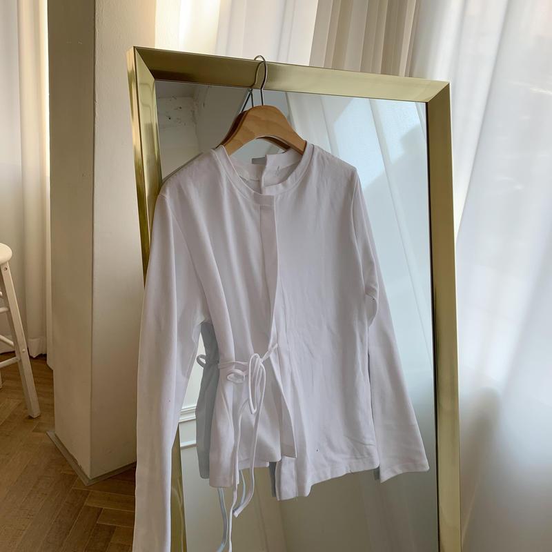 ✳︎予約販売✳︎strap T shirt/2colors
