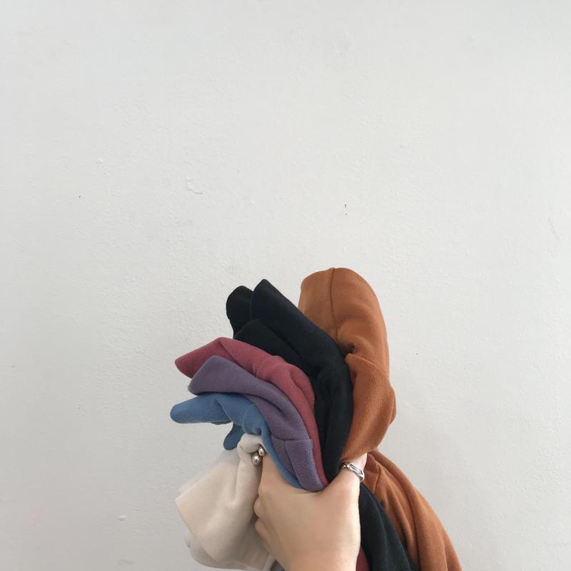✳︎予約販売✳︎裏起毛ハイネックT/5colors