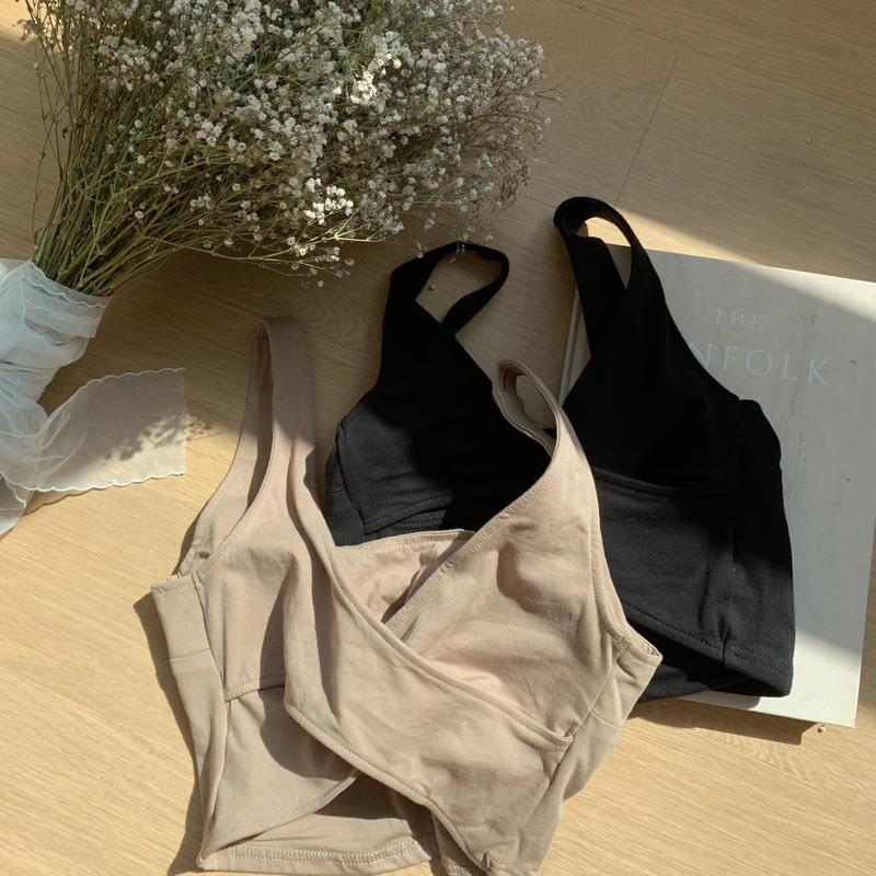 ✳︎予約販売✳︎ back cross mini camisole/2colors