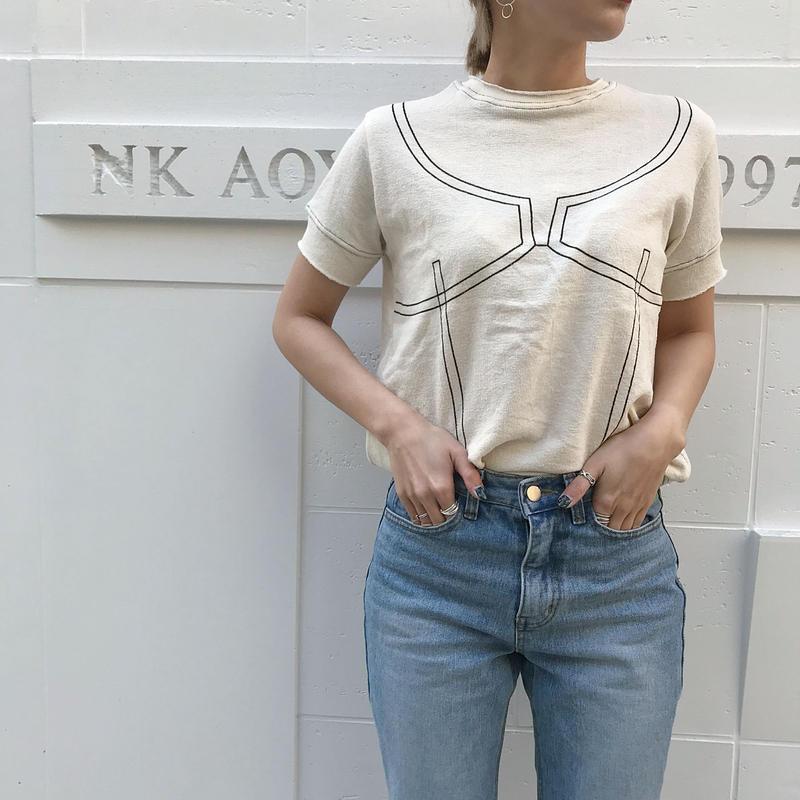 ランジェリーTシャツ/2colors