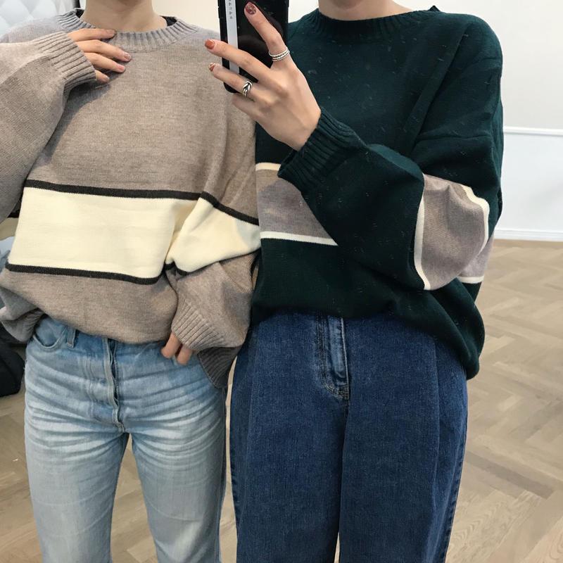 *予約販売*rétro knit/2colors