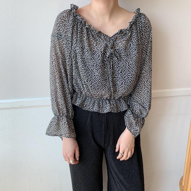 ✳︎予約販売✳︎minimal blouse/2colors