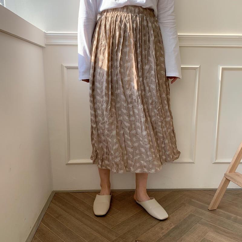 motif skirt/2colors