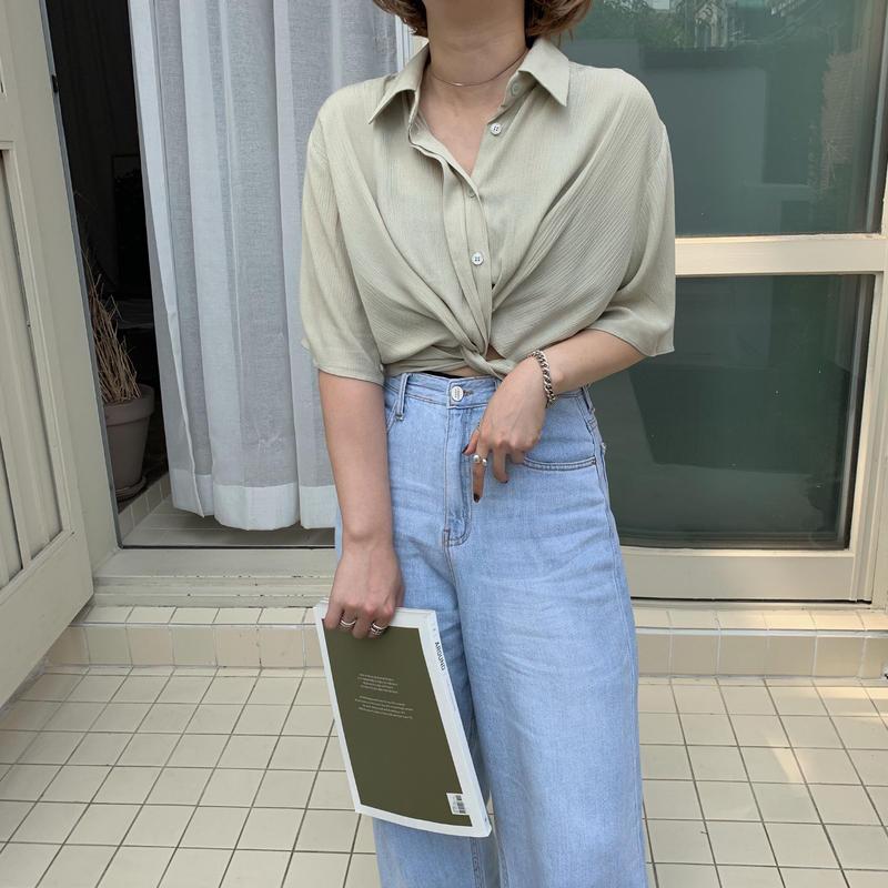 ✳︎予約販売✳︎minimal shirt/2colors