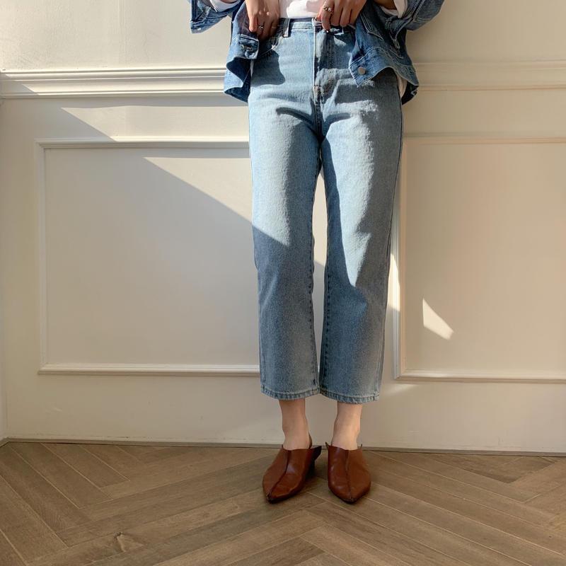 ✳︎予約販売✳︎croped jeans