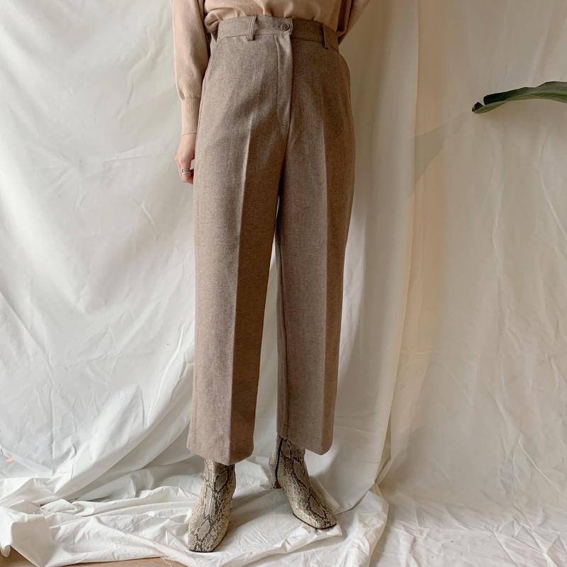 *予約販売*ankle slacks PT/2colors