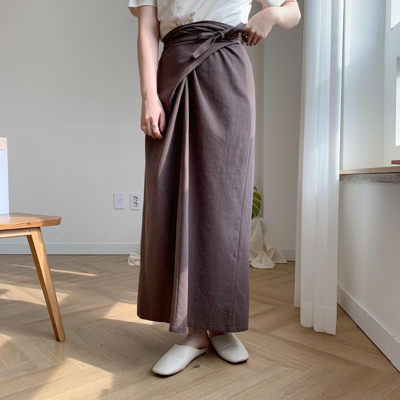 *予約販売*linen wrap SK/3colors