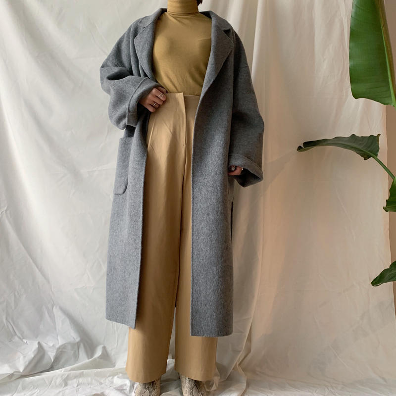 *予約販売*handmade long coat/2colors