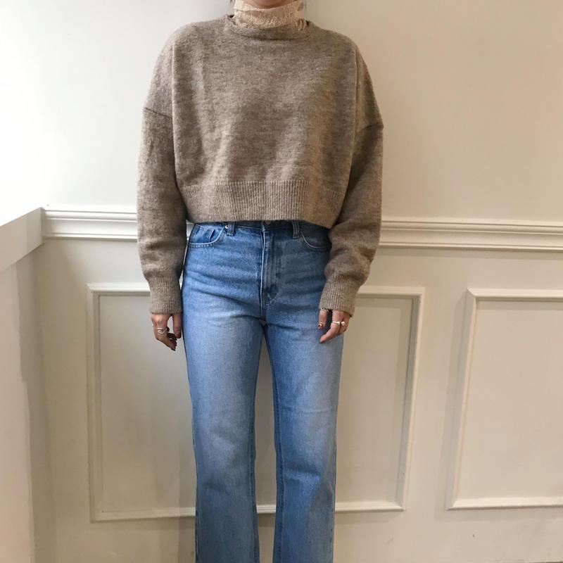 *予約販売* minimal knit/2colors