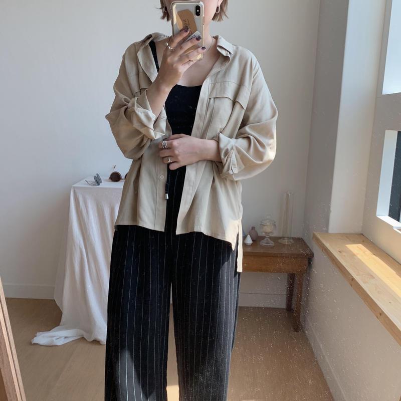 ✳︎予約販売✳︎pocket blouse/2colors