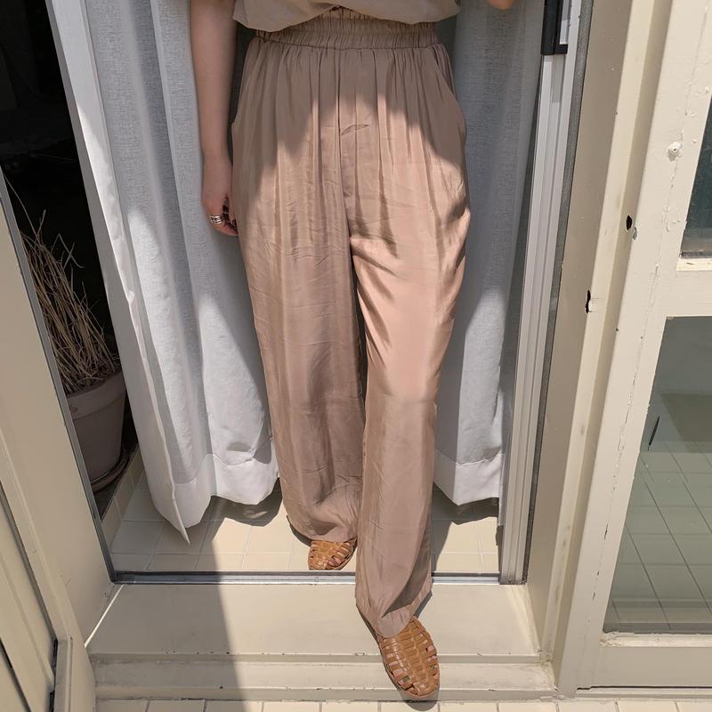 ✳︎予約販売✳︎satin pants/2colors