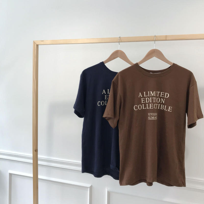 """limited""T-shirt/2colors"