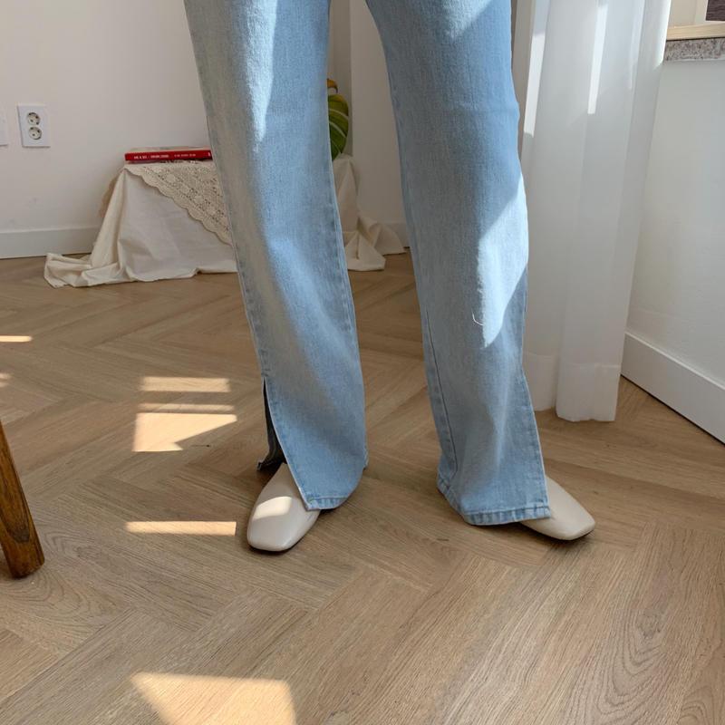 *予約販売*slit long jeans