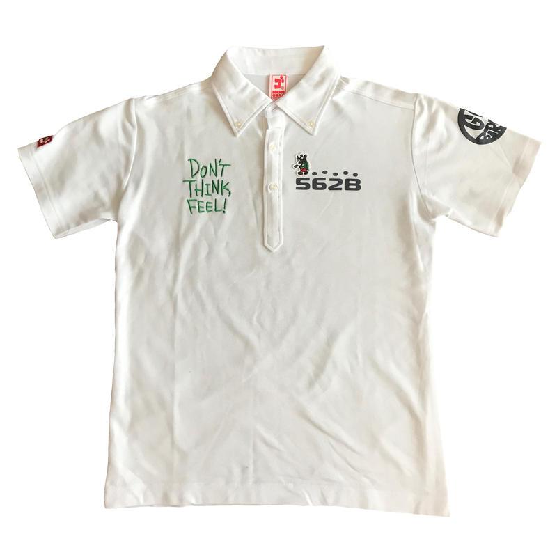 【再販・予約販売】2017モデル 野村タケオデザイン562Bポロシャツ ホワイト