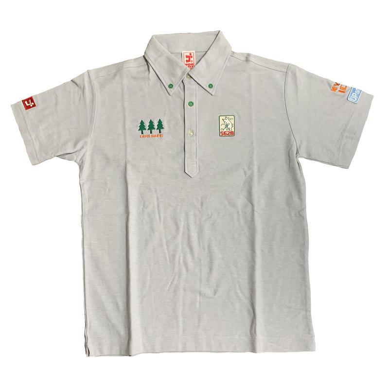 【予約販売】野村タケオデザイン562Bポロシャツ2019モデル グレー(新色)