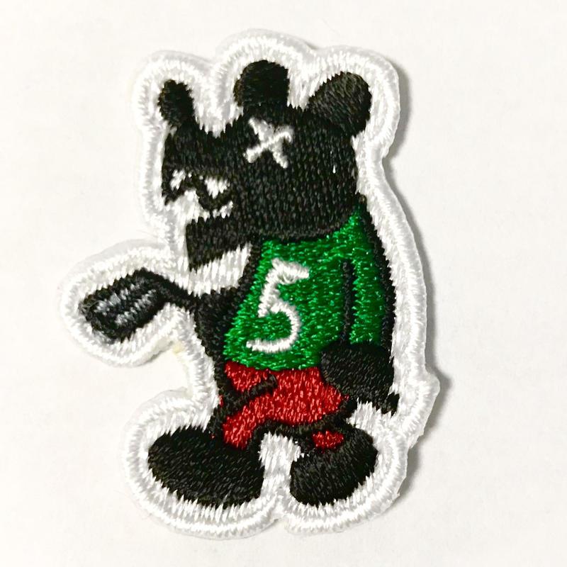 562Bベアー(黒クマ)ワッペン