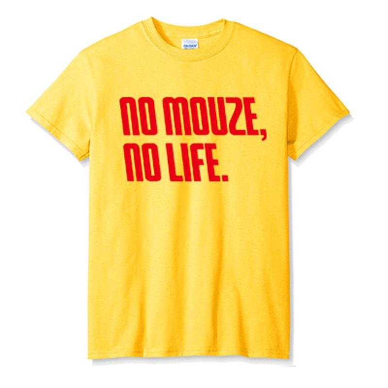 NOMOUZE Tシャツ/イエロー