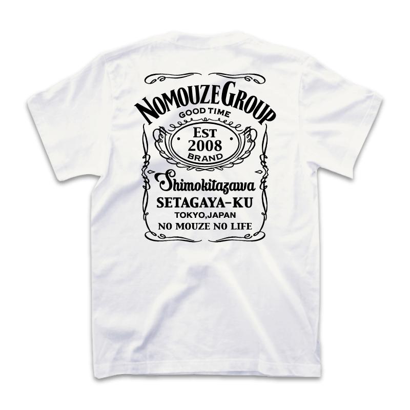GOOD TIME NOMOUZE  Tシャツ/ホワイト