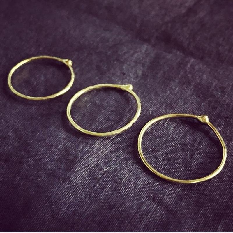 Lumpリング    brass