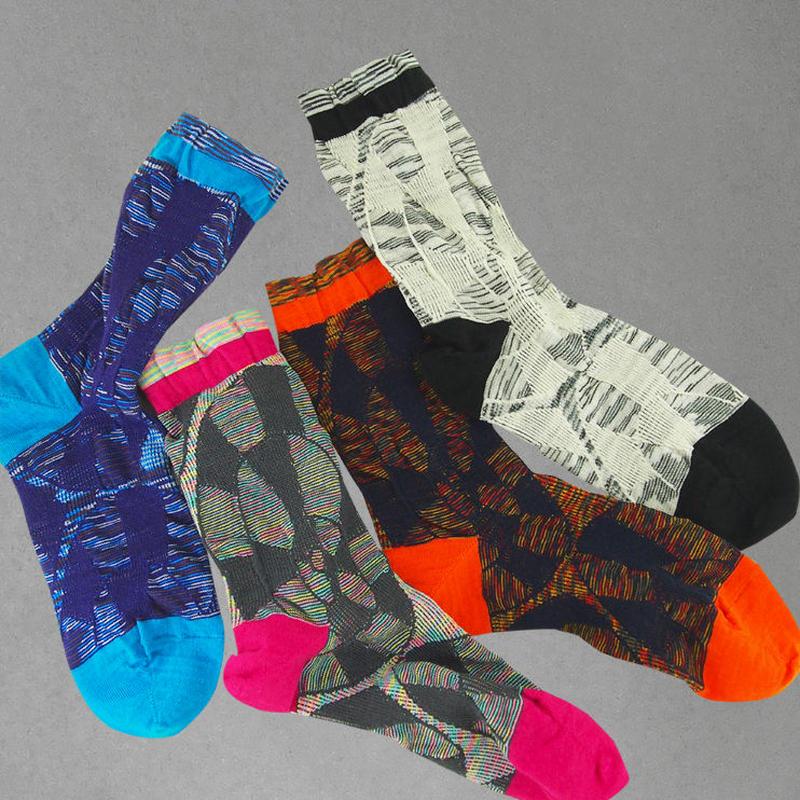 【nonnette】Ammonite  Socks NS200Y- 4 color