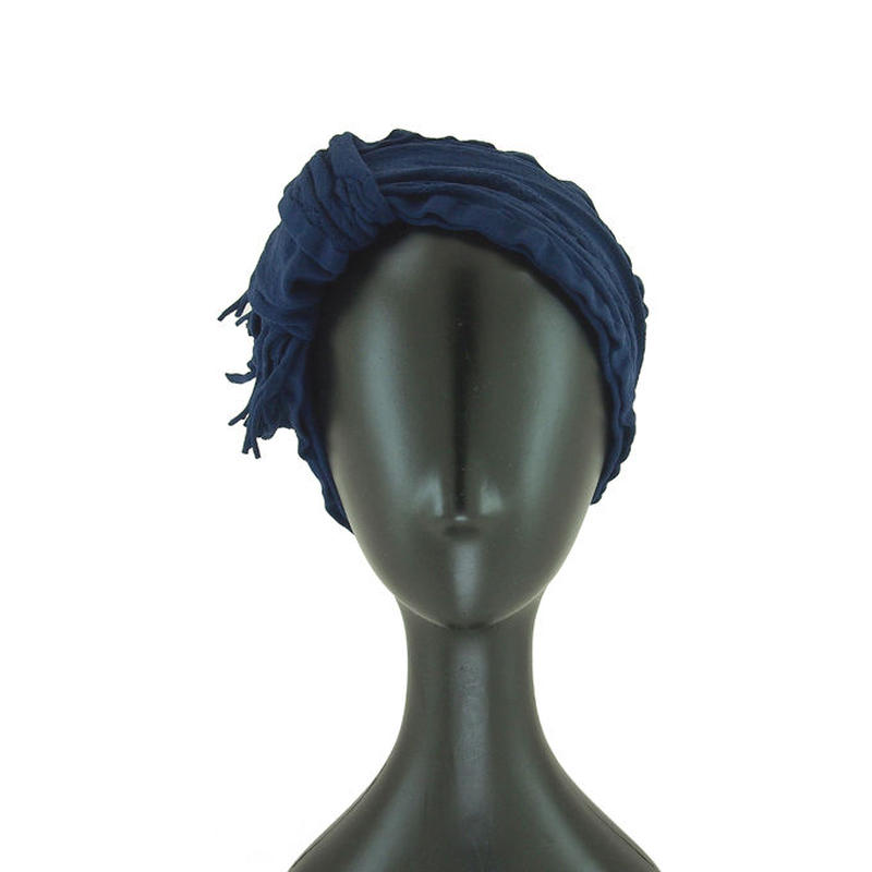 【nonnette】Fringe mix  Headbands  HH055R- 88/ navy