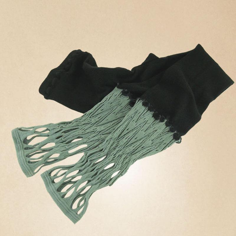 【nonnette】 Combination Leggings NL058R- 93 / olive gray