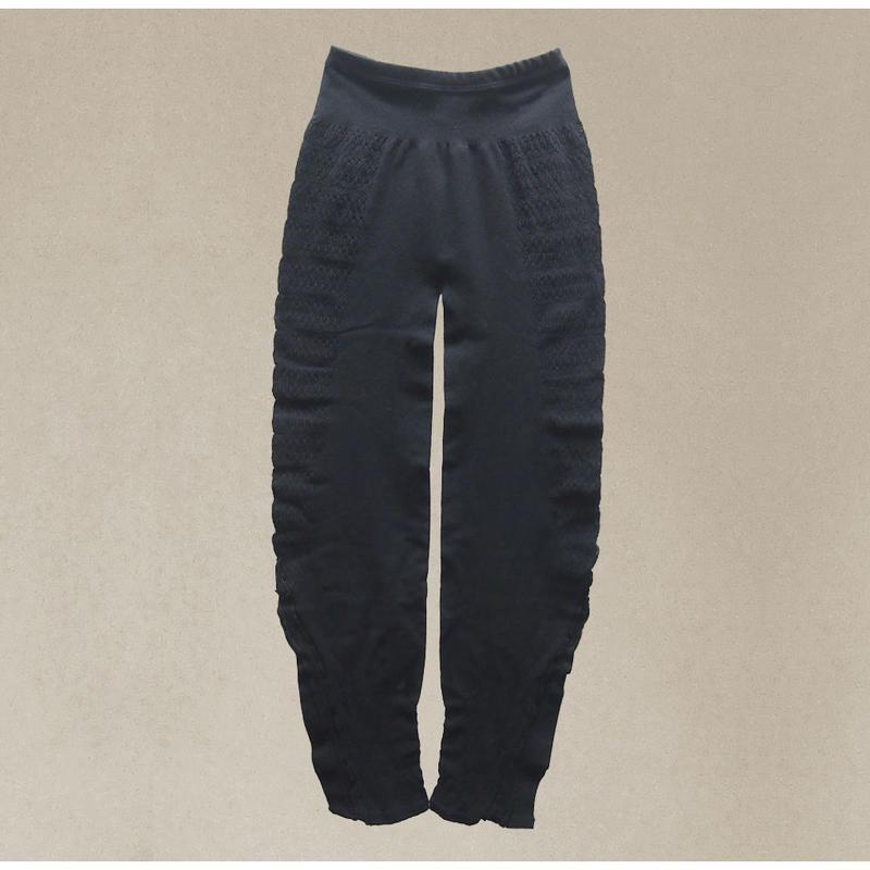 【nonnette】 Innovative form Leggings NL056R- 99/ black
