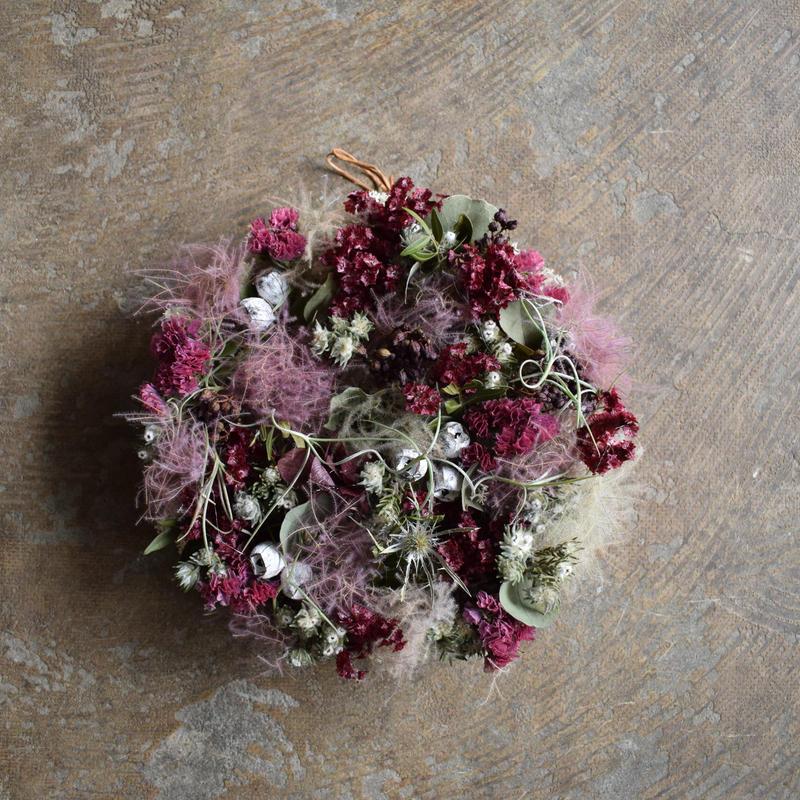 野の花屋 フラワーメダリオン no3