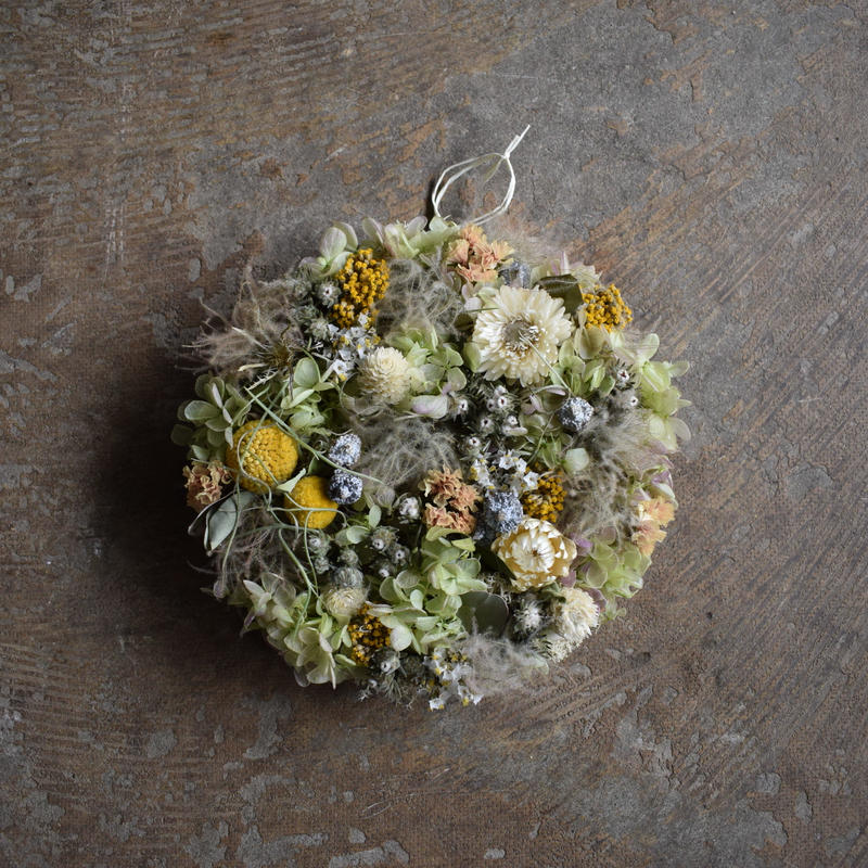 野の花屋 フラワーメダリオン no1